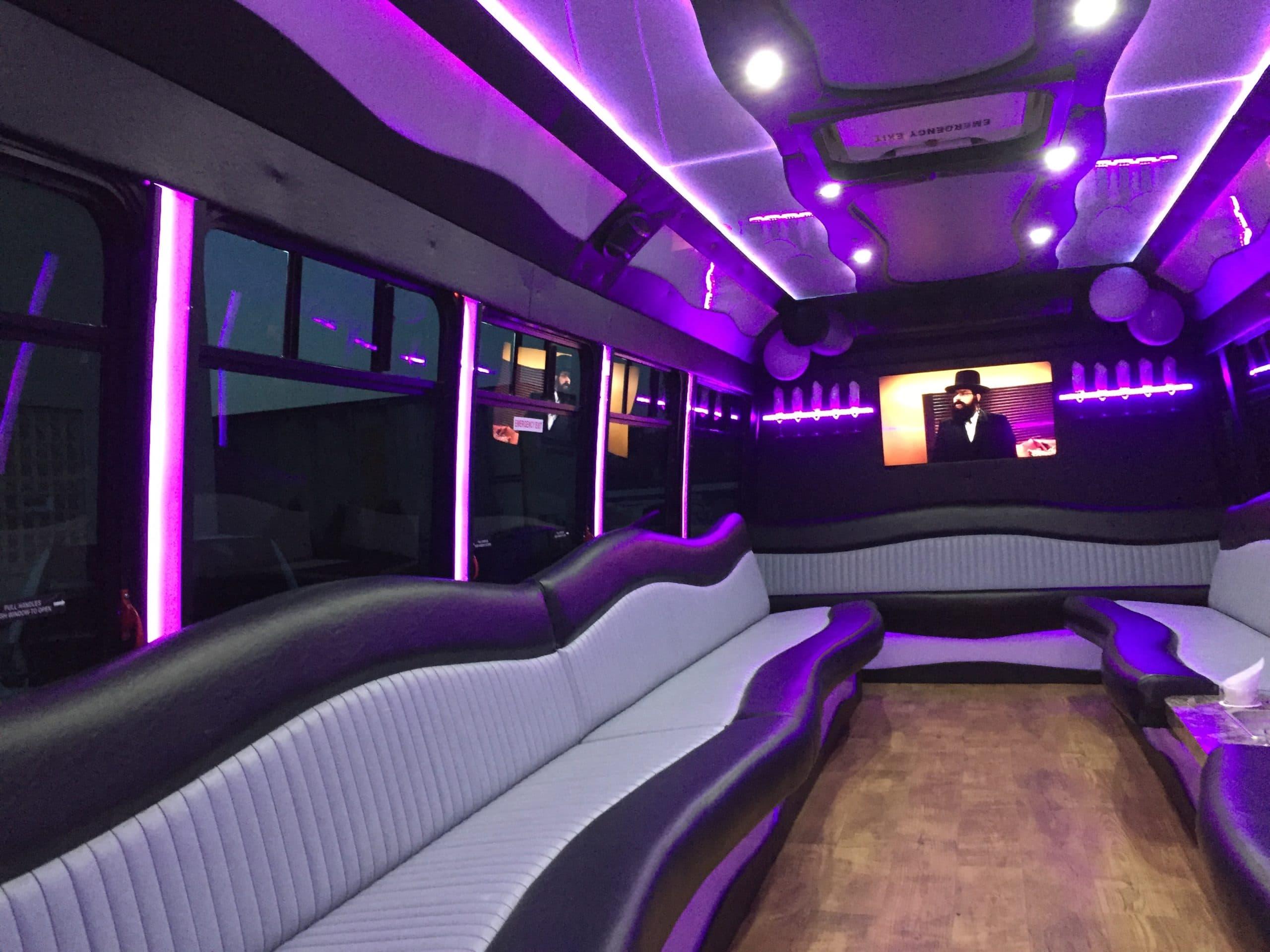 Party Bus Rental Detroit Mi Van Hove Limousine