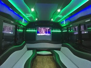 New 25 Passenger Party Bus