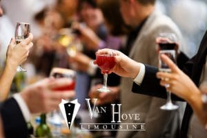 Book Your Corporate Holiday Party Bus with Van Hove Limousine